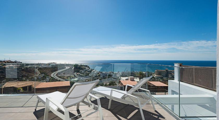 balkon/terasa Altos de la Gloria Beach Apartments