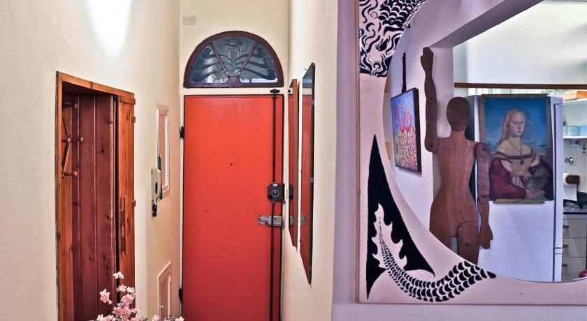 Eingang Apartments Florence - Laura Ground Floor