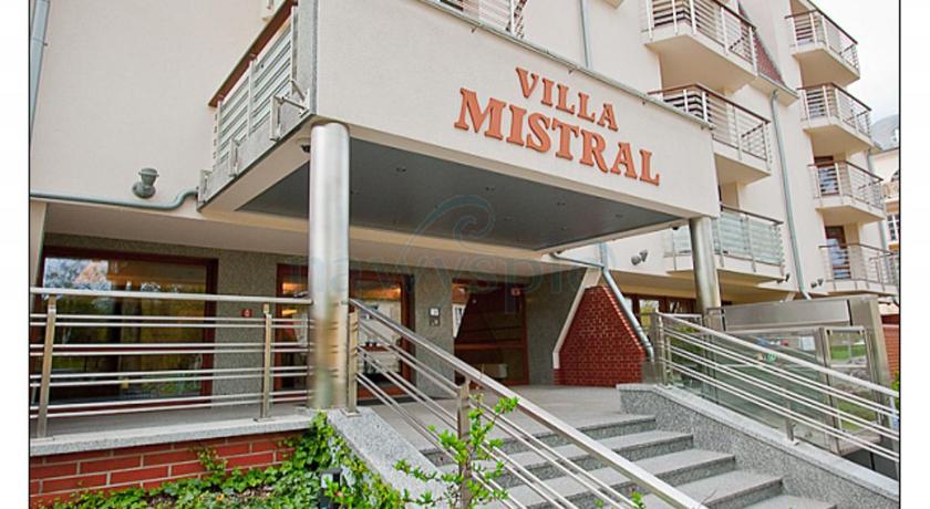Apartamenty Na Wyspie Villa Mistral Świnoujście