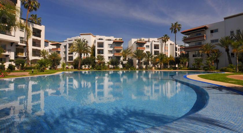 Swimmingpool Luxury Flat in Marina Agadir
