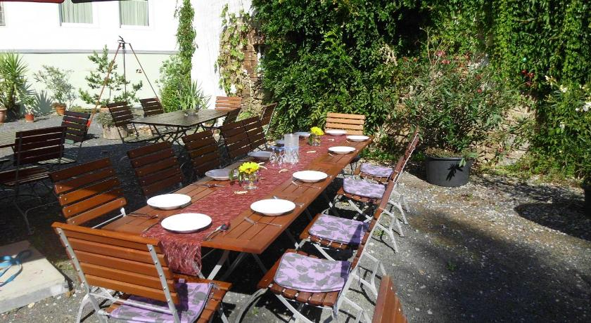 Balcony/terrace Pension Zum Hirsch