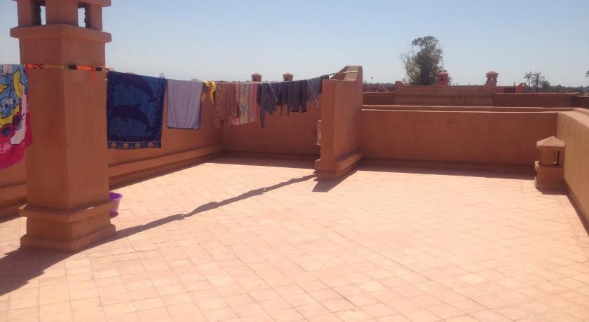 terraza Appartement Atlas Marrakech