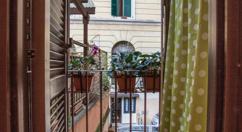 altan/terrasse Apartments in Trastevere Toc Toc...