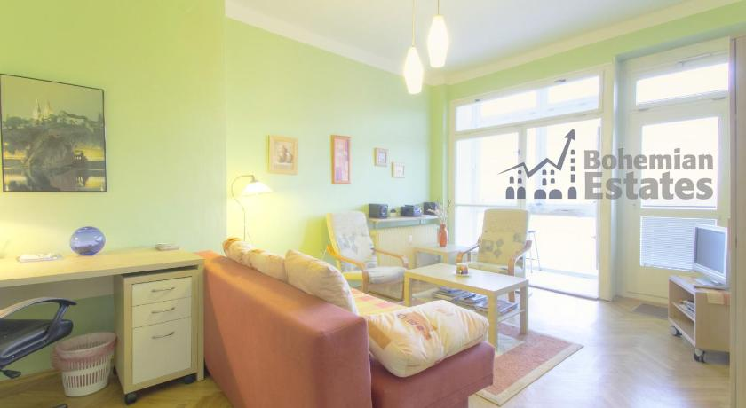 غرفة معيشة منفصلة Vysehrad Apartment