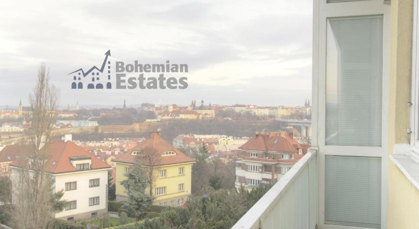شقة مع شرفة Vysehrad Apartment