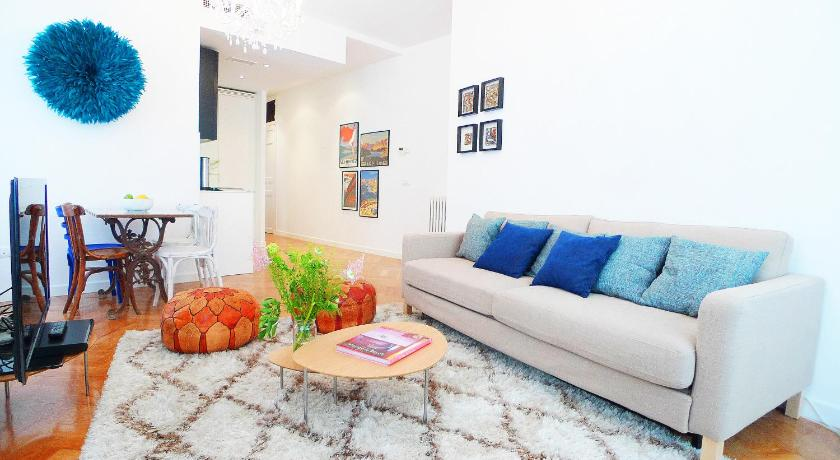 Deluxe Apartment - Separate living room Chic Rentals La Latina - Cava Alta