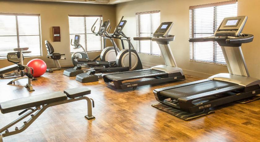 gym Teddy's Residential Suites New Town