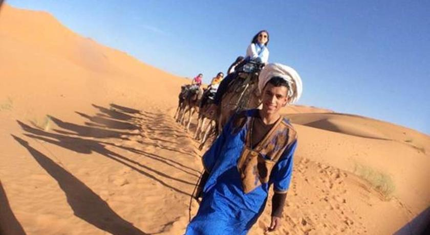 Camel Ride To The Desert Camp