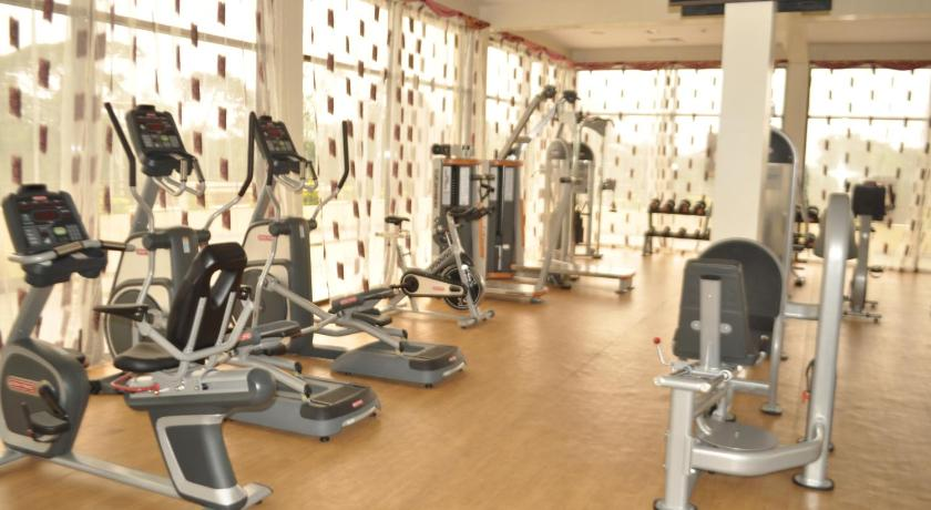 fitness centrum Le Royal Heliconia Bongoville