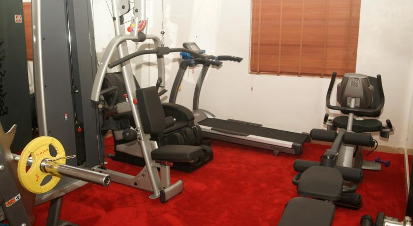 Fitness center Ellis Suites Limited