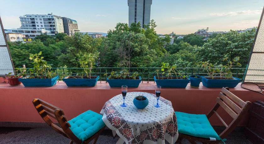 شرفة/ تراس Apartment La Casa Azul