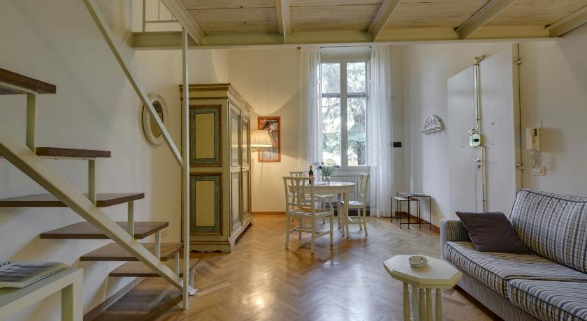 Apartment Oblio mit 1 Schlafzimmer - Separates Wohnzimmer Florence Apartments Tuscan Feeling