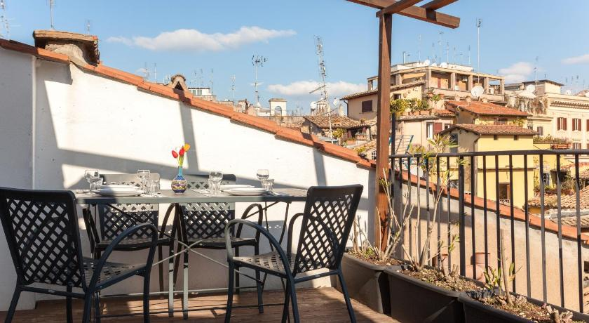 شرفة/ تراس Rome as you feel Cappellari with Terrace