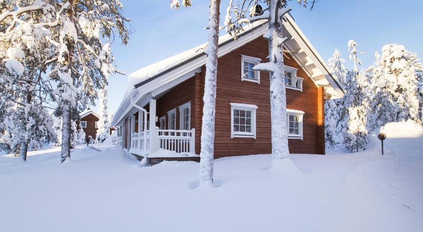 Ounasvaaran Lakituvat Hiihtomajantie Rovaniemi