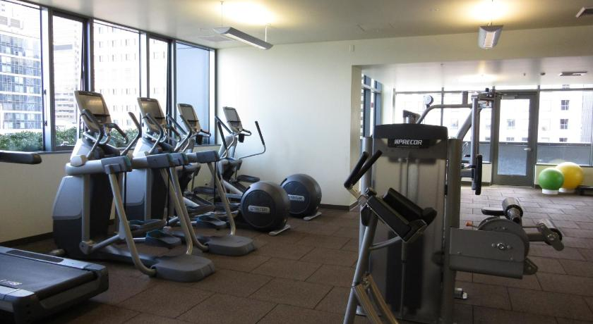 Fitness center The Post by ABODA