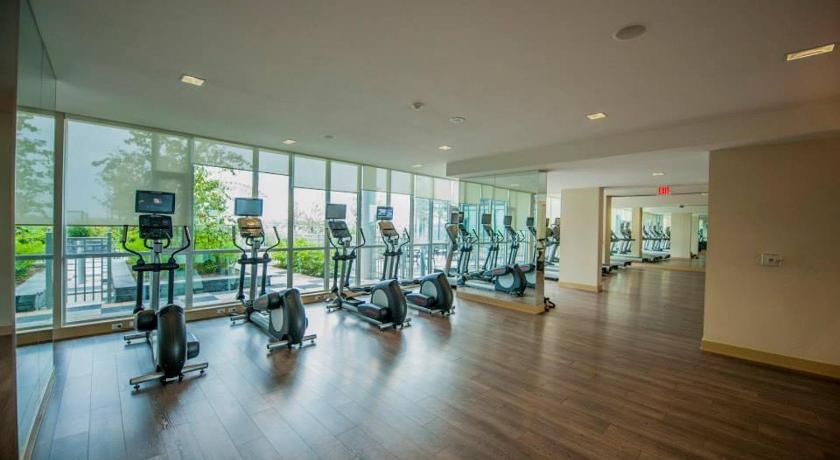 Fitness center Accurate Plus Furnished Apartment- Brickstone Mews