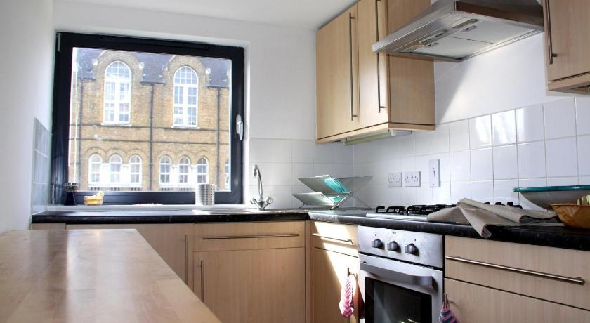 شقة مع شرفة - مطبخ Fashionable Notting Hill Apartment