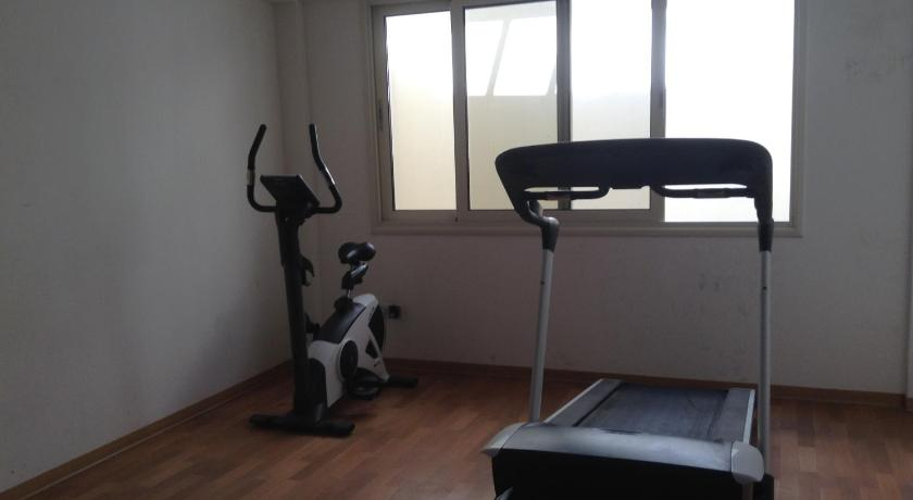 fitness centrum Adriana Holiday Resort
