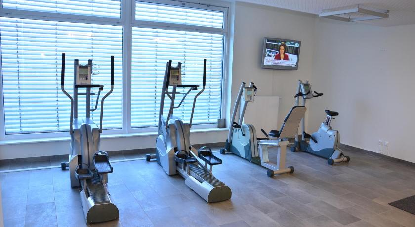fitness centrum Hotel Kapellenberg