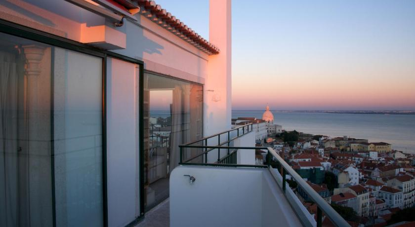 balkon/terasa Lisbonne Collection - Castelo Penthouse