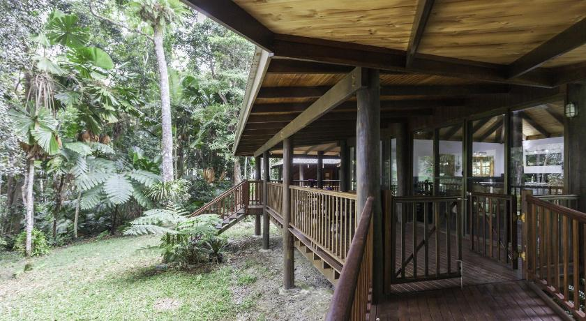 Balkong/terasse Luxury Rainforest Villa