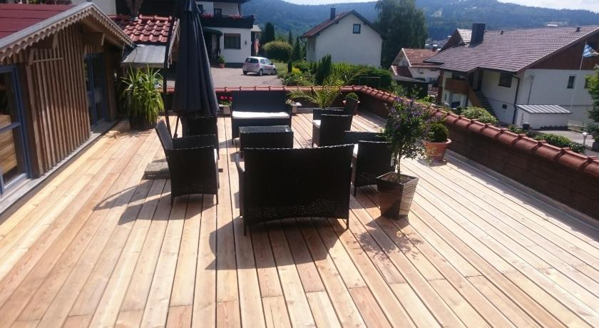Balcony/terrace Pension Landhaus Koller
