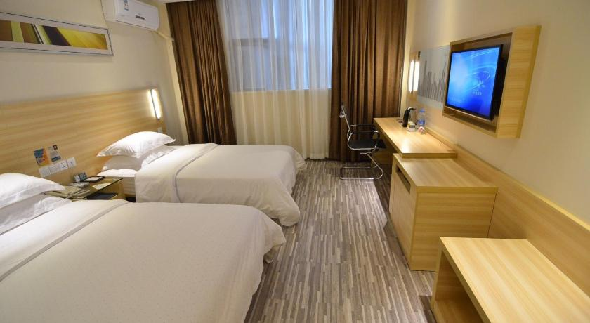 Mainland Chinese Citizens - Twin Room - Guestroom City Comfort Inn Wuhan Internaitonal Expo Center