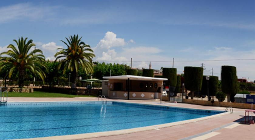 Swimming pool Camping L'Alba