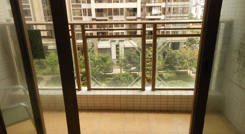 Balcony/terrace Global L Apartment Liede Garden