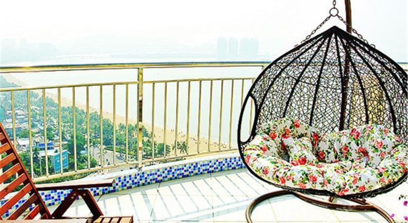 Mainland Chinese Citizens-Triple Room with Sea View Sanya 100M Seaview Apartment
