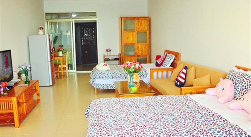 Mainland Chinese Citizens-Twin Room with Sea View Sanya 100M Seaview Apartment