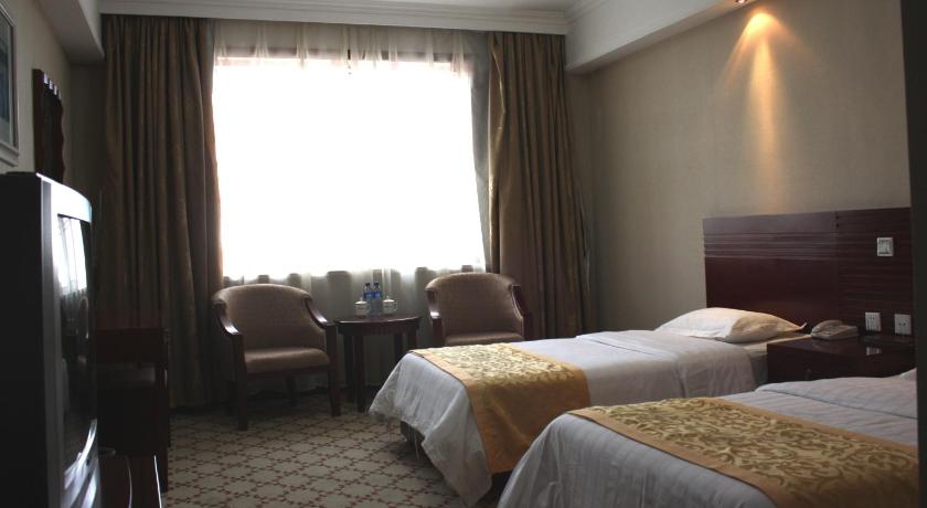 Deluxe Twin Room with Bath Xiushan International Hotel Bidebao Art Square