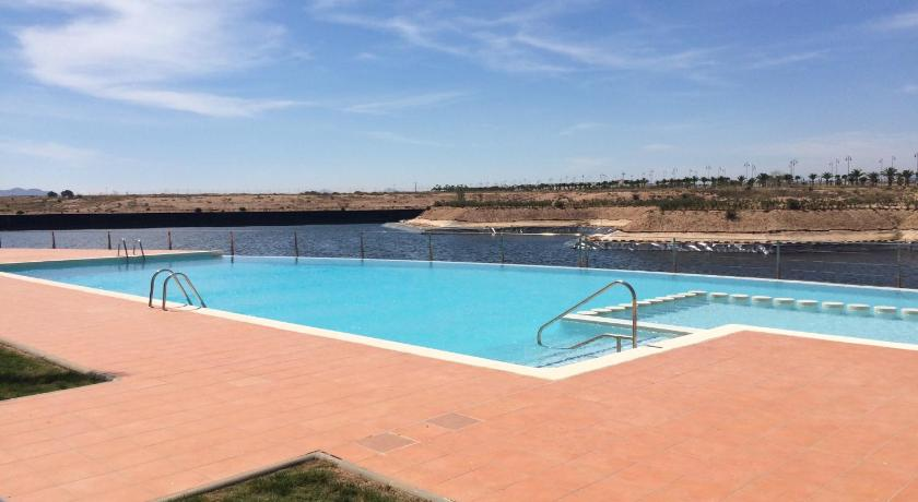 Schwimmbad Alhama Golf Penthouse