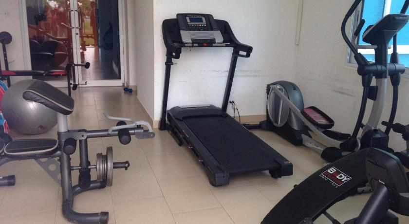 fitnesscenter Luxury Apartment On Playa Blanca