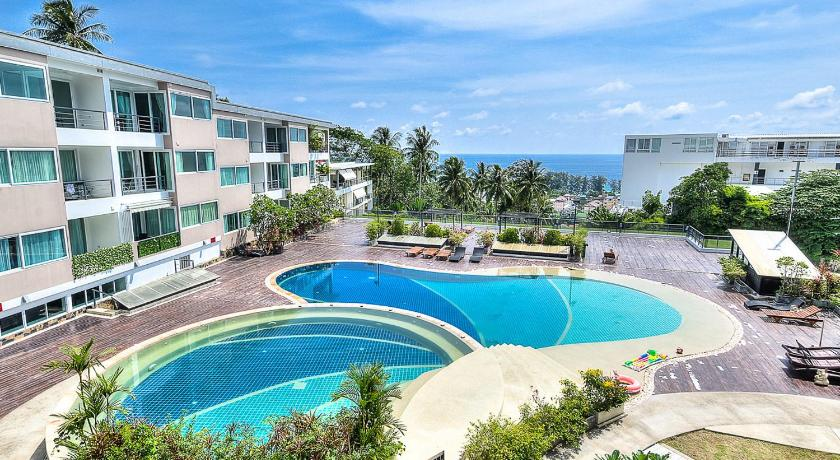 Suite med havutsikt Apartment in Karon with sea view