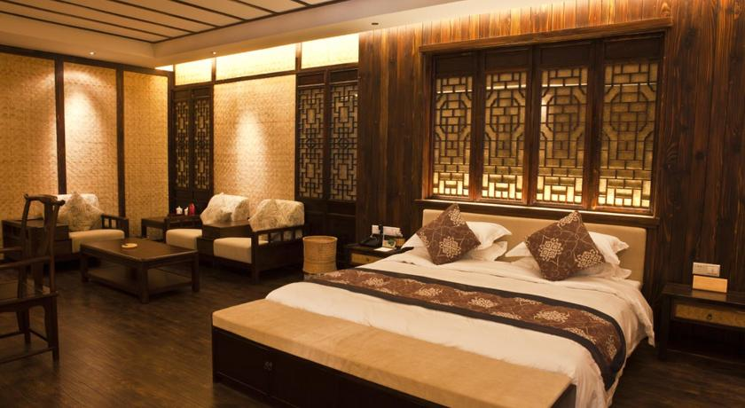 King Room with Garden View Wuyishan Yiyuan Tiancheng Tea Culture Experience Hotel