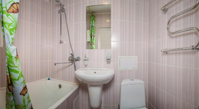 Economy Single Room - Bathroom Hotel Tomsk