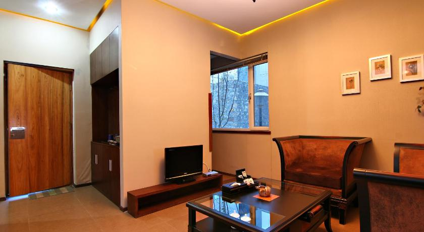 Mainland Chinese Citizens - Two-Bedroom Suite with Mountain View Jinan Tujia Sweetome Vacation Apartment - Ni Ya Jia Ri