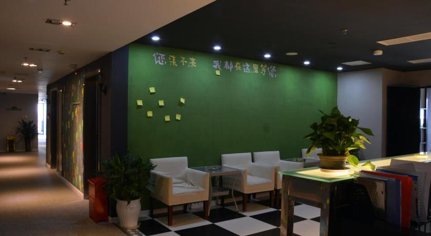 Lobby Chengdu Kuanzhai Little Apple Theme Hotel Jinhe Road