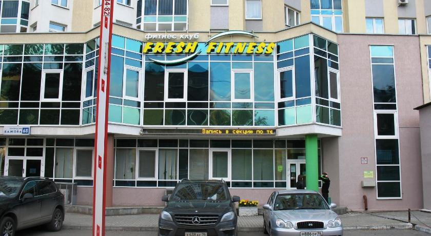 Fitness center Apartments Megapolis in Bazovskiy
