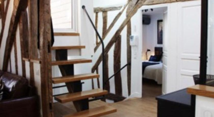 Empfangshalle Apartment Saint-Germain 7 adults