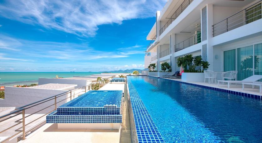 Schwimmbad Serene Penthouse - Exclusive Luxury Penthouse
