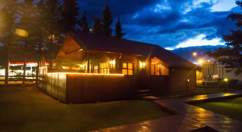 Two-Bedroom Cottage with Hot Tub - Exterior view Akureyri H.I. Cottages