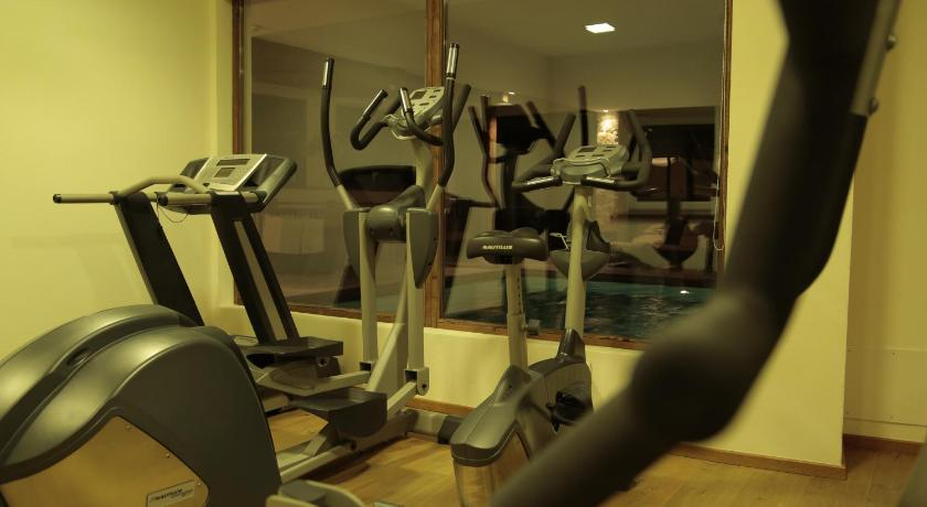 Fitness center Sporthotel Monte Pana