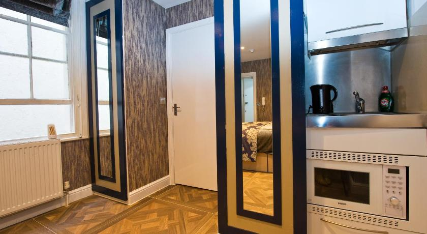 Classica apartments r servez en ligne bed breakfast for Chambre d hote londres