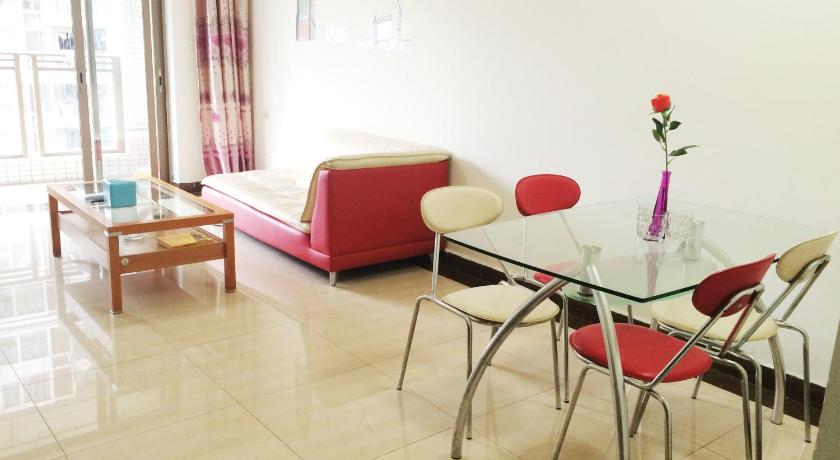 Two-Bedroom Apartment Huacheng Apartment Zhujiang