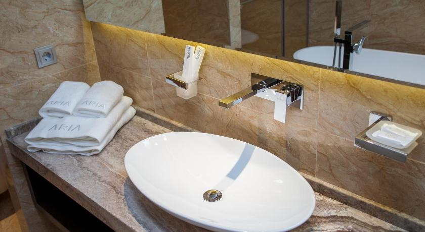 Standard Double Room - Bathroom Aria Spa Hotel