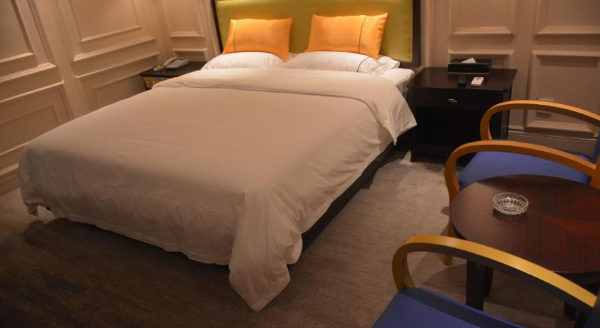 Standard Twin Room with Sofa - Bed Qingtian Boutique Hotel