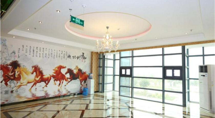 Lobby Tianjin Ka Mei Long Business Hotel