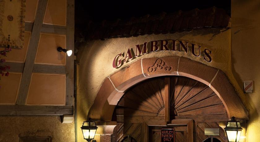 Le Gambrinus 4 rue des Raisins Beblenheim